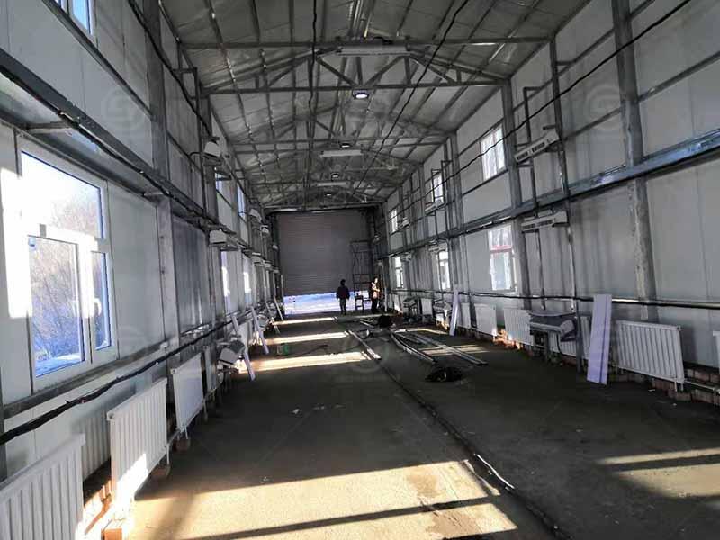 新疆塔城162检查站车辆消杀暖房