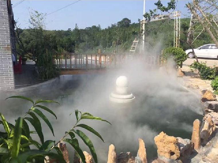 园林景观对于四川人工景观造雾是怎样的存在呢!