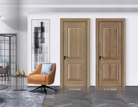 轻奢风格铝木门