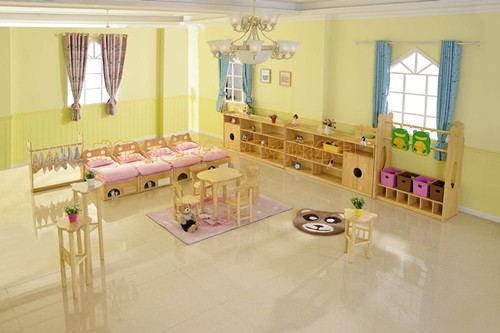 成都幼兒園家具係列組合