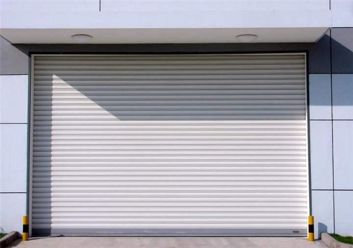 白银电动卷帘门