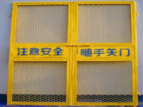 工地施工对电梯防护门的规范要求很严格,具体要求有哪些?