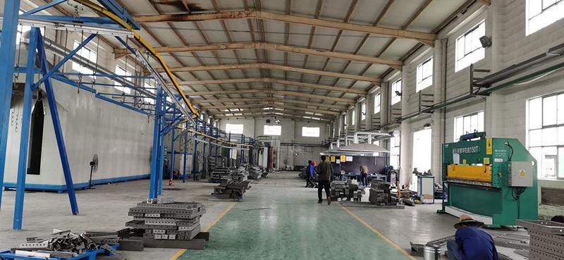 工厂内部生产内环境
