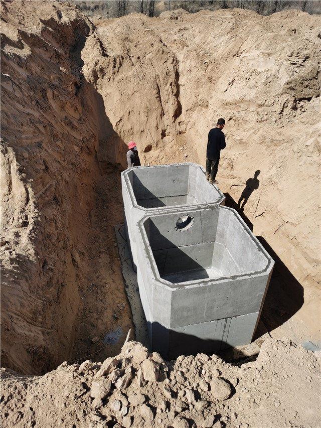 农村自建房的三格式化粪池,大小怎么来确定!