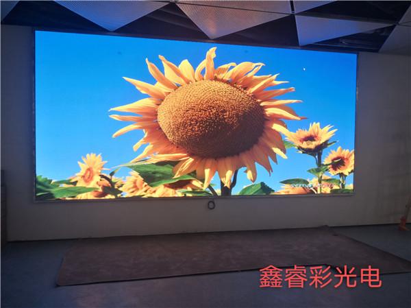 陕西LED显示屏厂家案例展现说明