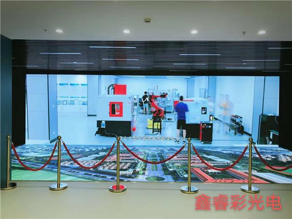 西安交通大学创新港室内多媒体展厅显示屏设备