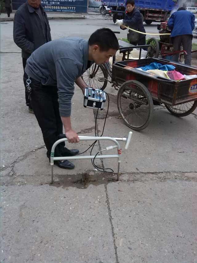 湖南衡阳某县检测现场
