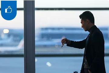 机场头等舱服务