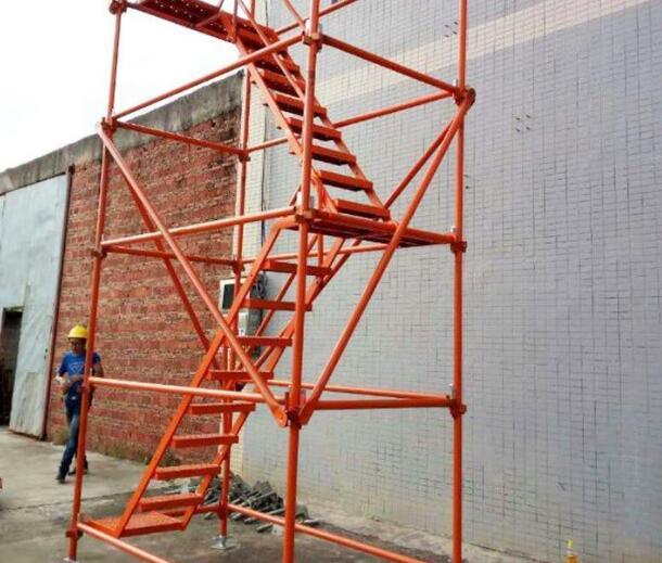 湘潭安全爬梯租赁厂家分享安全爬梯各部件的安装使用方法