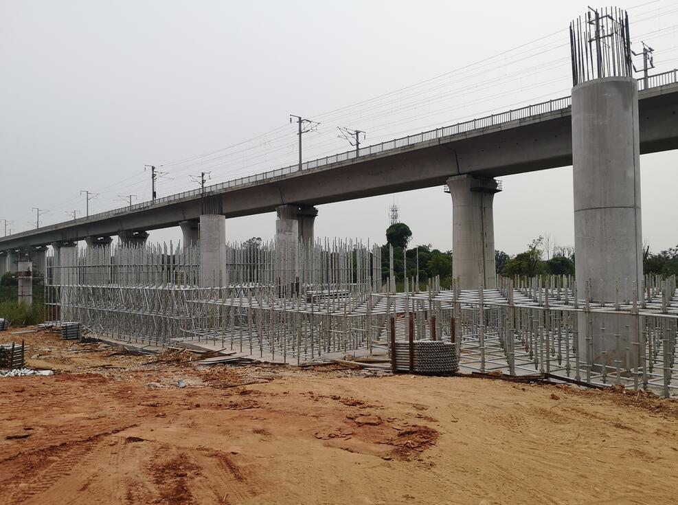中铁六局天府机场高速TJ1标段