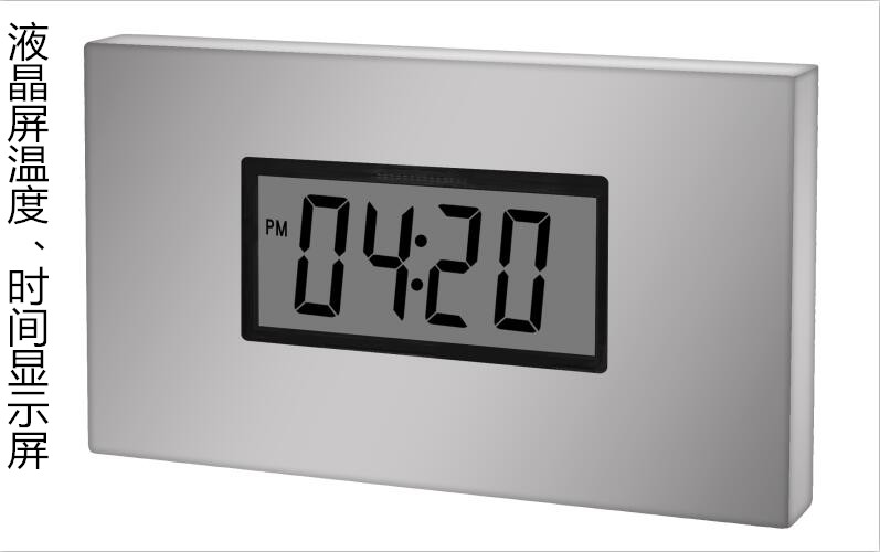 温度方显示器类别