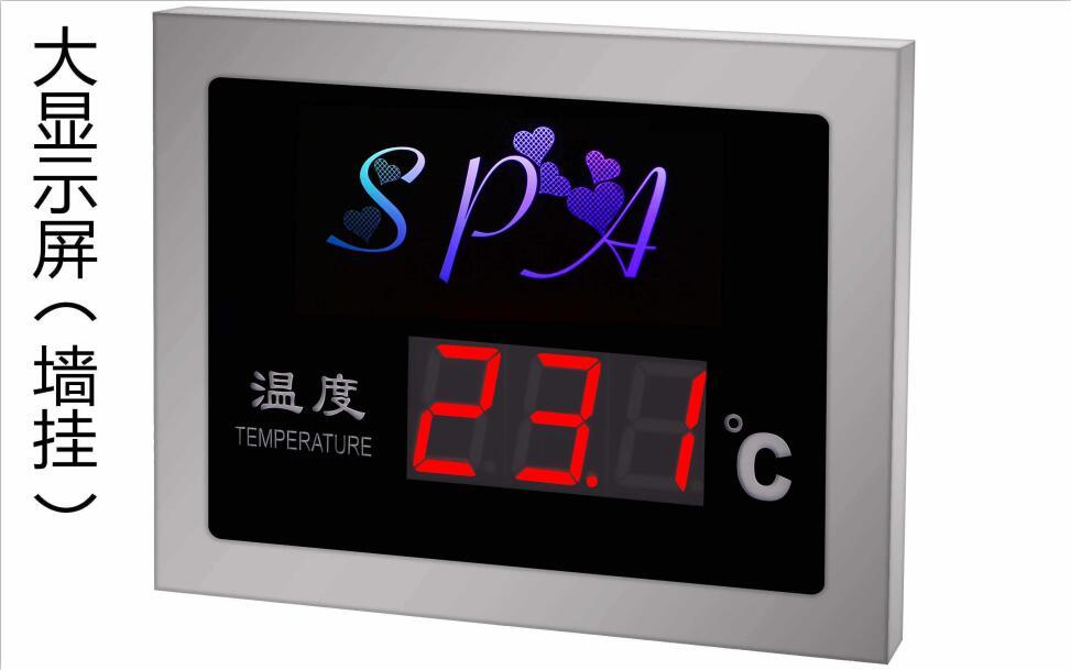 温度显示屏