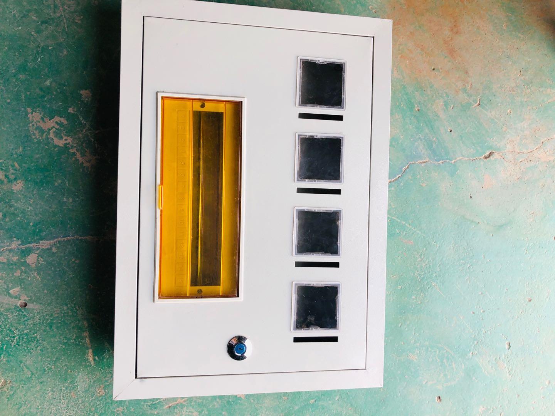 电表箱安装案例