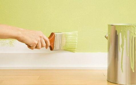 乳胶漆上墙