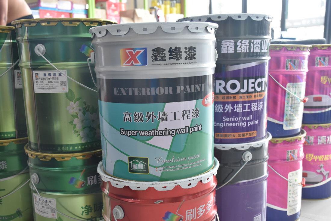 乳胶漆产品