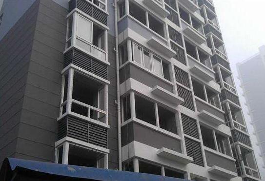 河南锌钢百叶窗安装