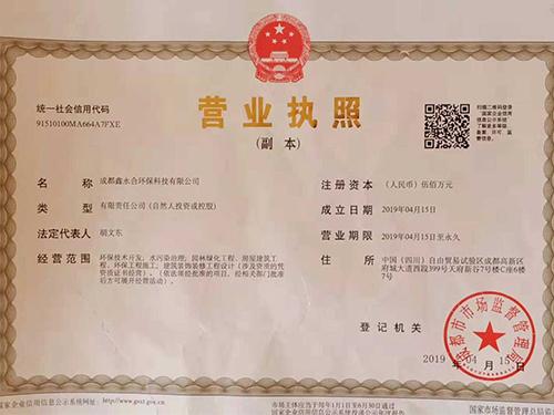 鑫永合营业执照