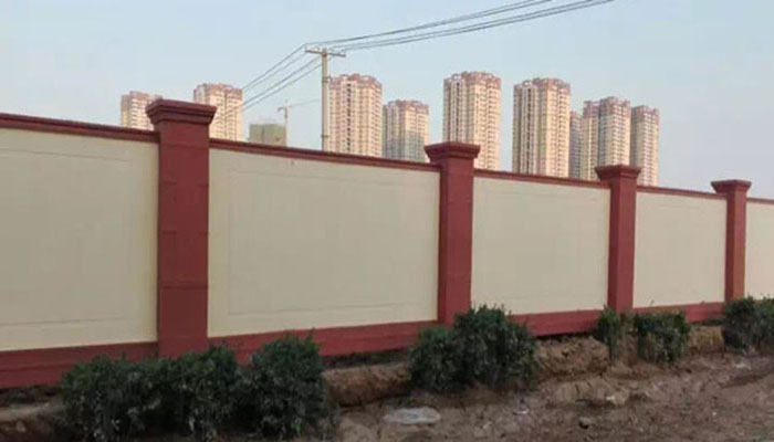 预制装配式围墙