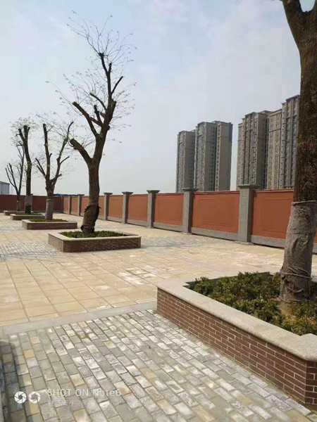 西咸新区空港新城航空冷库围墙