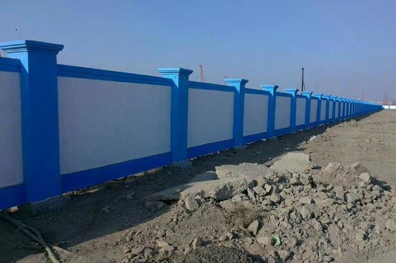五星街道办高新一中项目临时围墙