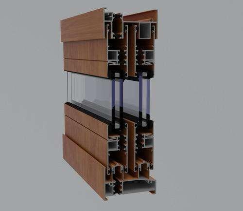 呼和浩特市铝米格包木门窗