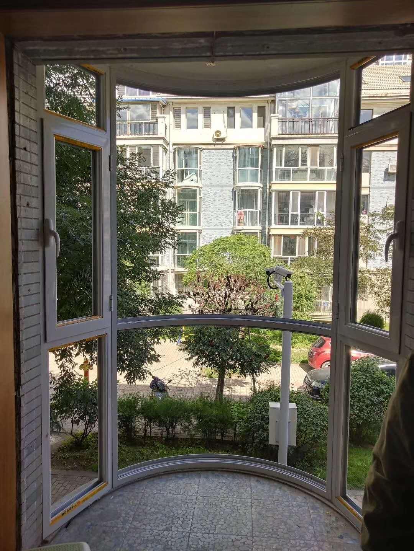 皇辰泰与绿地香树花成大合作的断桥门窗