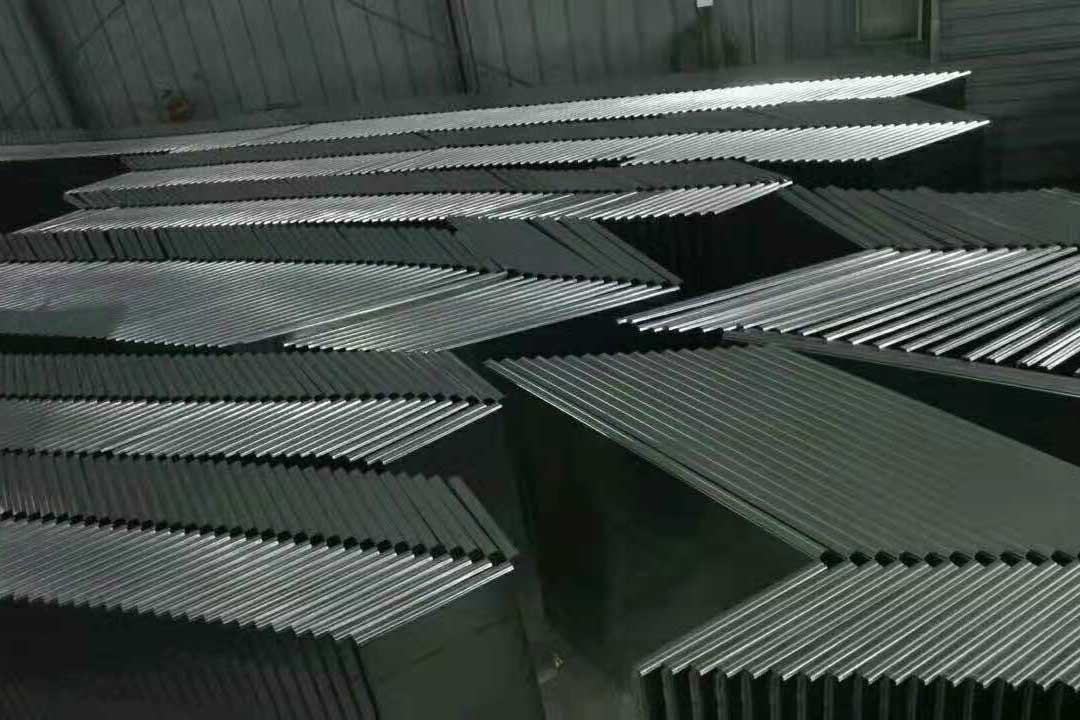 不锈钢制品堆放区域