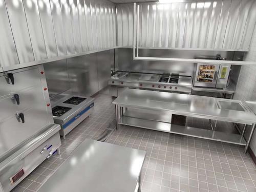 成都商用厨房设备完工图片