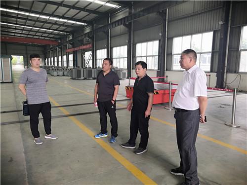 河南干式变压器-市科技局领导考察