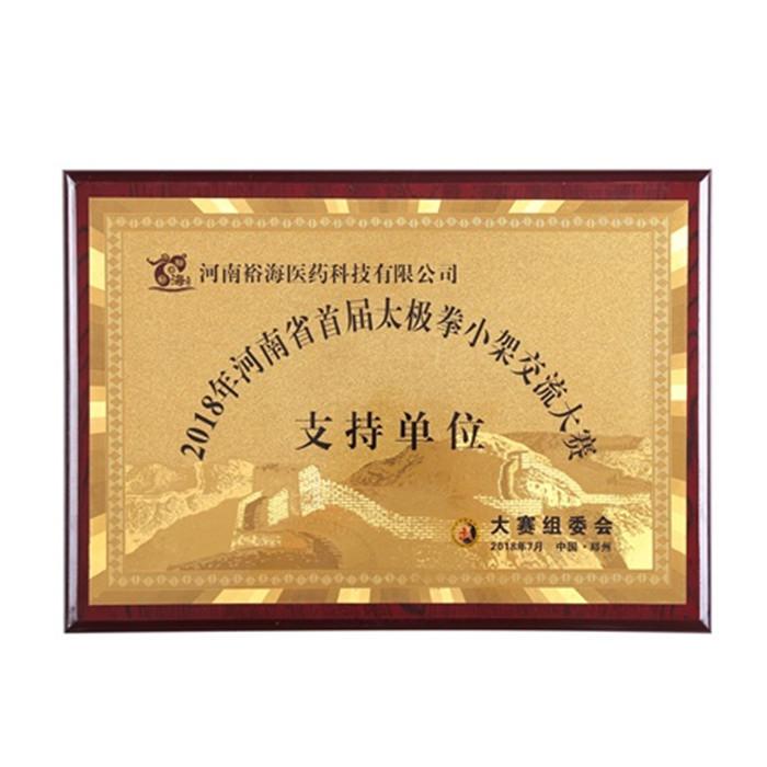 2018年河南省首届太极拳小架交流大赛