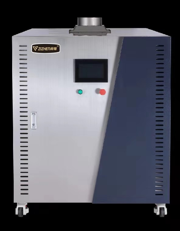 立式超低氮双冷凝蒸汽机正面