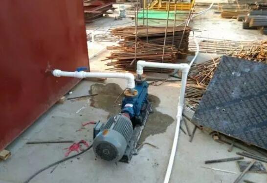 给工地水泵加装远距离无线开关