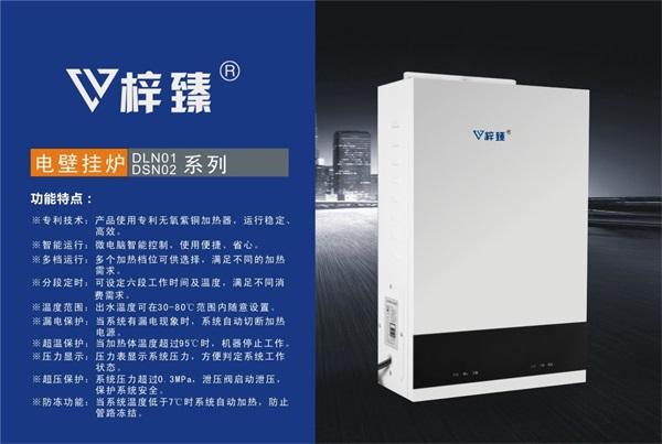 梓臻电壁挂炉DLN01/DSN02系列