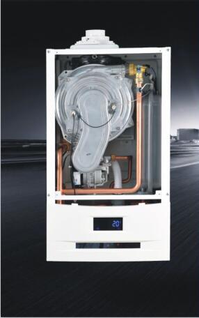 冷凝系列(Wall Hung Gas Boiler)双变频:变频水泵+变频风机内部