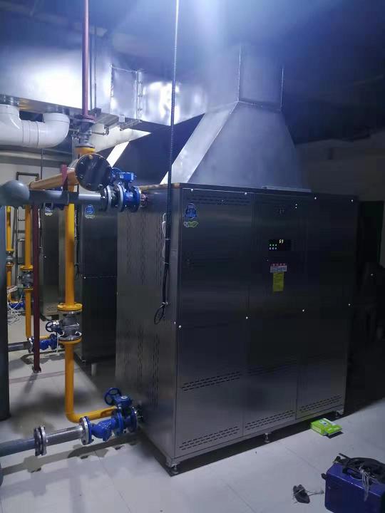 梓臻品牌双冷凝超低氮热水机组案例分析(浙江温州江南洲际酒店)