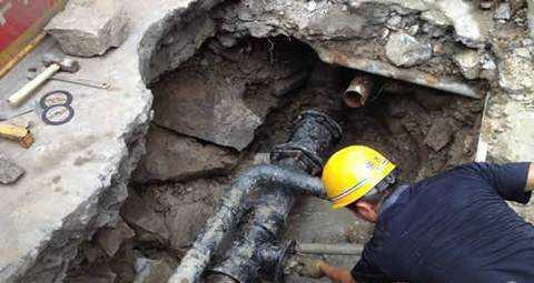 内蒙古管道改造工程