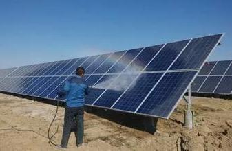 对光伏太阳能发电站进行清洁,可以提高发电效率?