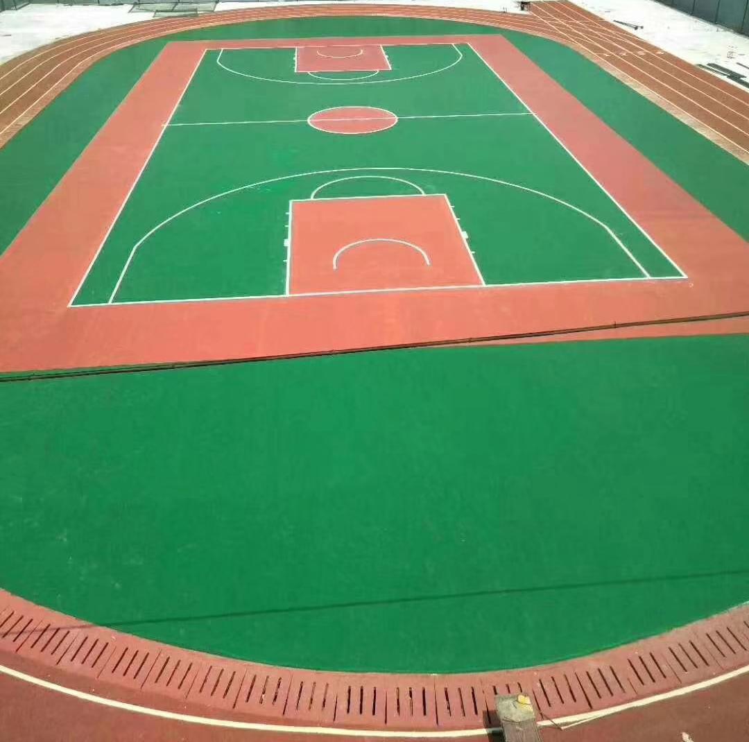 硅PU体育场