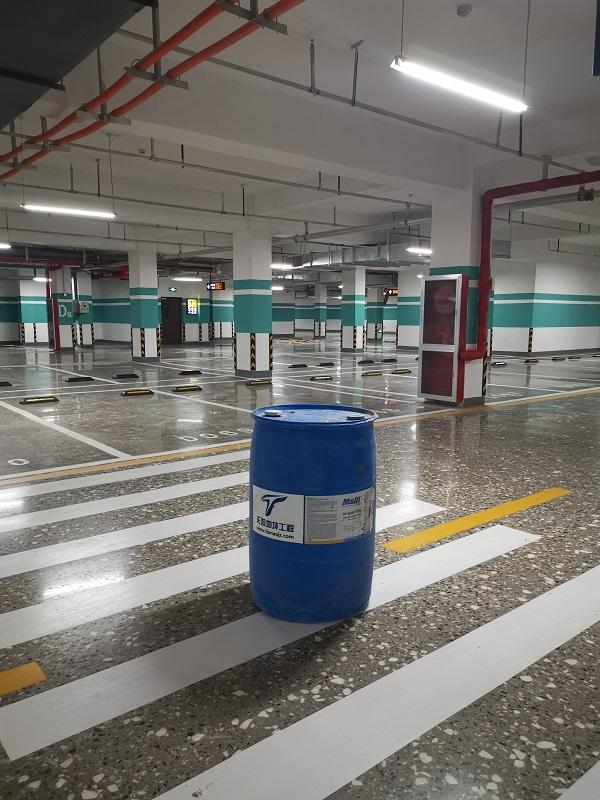 金宇星城地下车库施工案例