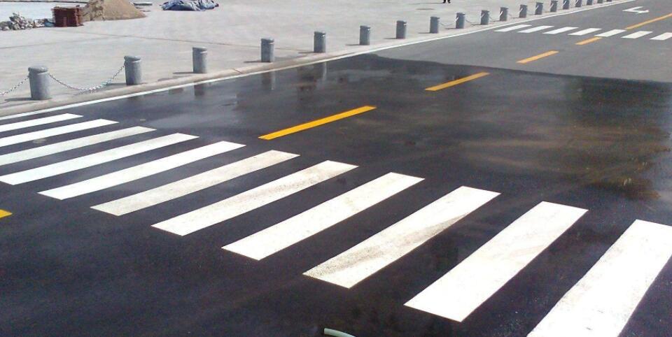 道路划线工程的施工