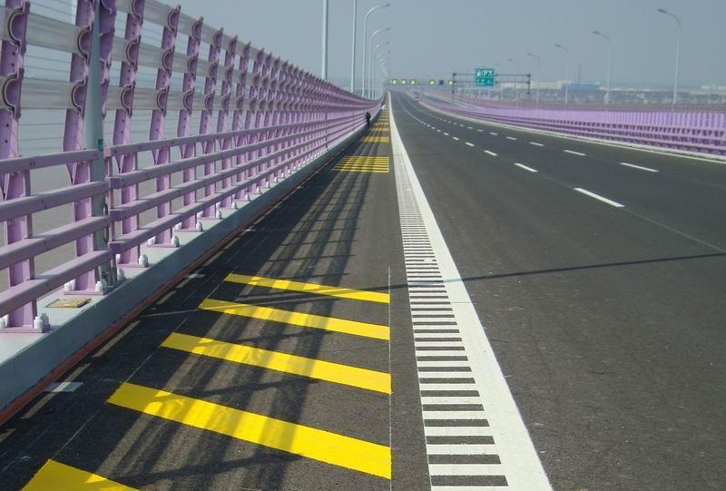 呼市道路划线工程