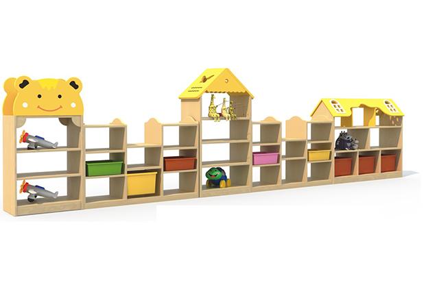 成都幼儿园家具厂家-玩具柜