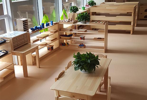 成都幼儿桌椅区域空间的合理安排,看过来!
