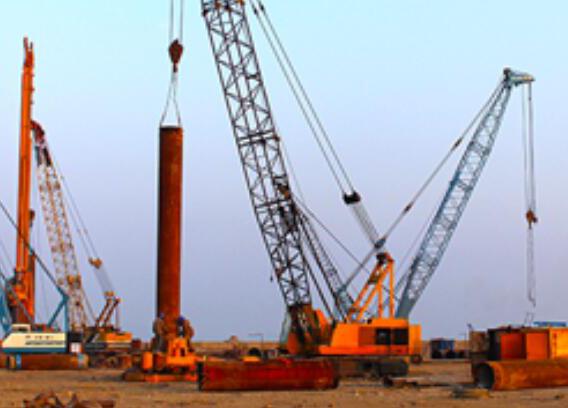 华瀛石化芒洲岛石油储存项目桩基础工程