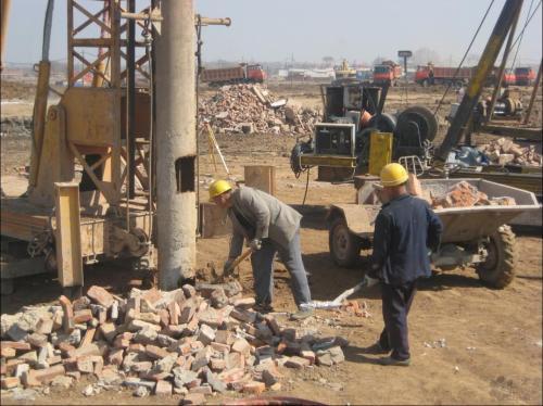 樁基礎與強夯在工程中的應用