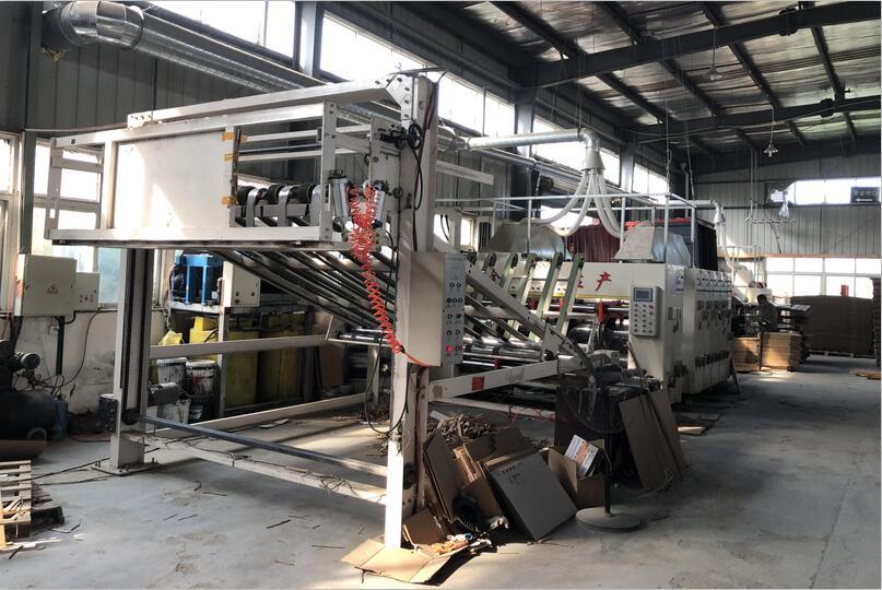 瓦楞纸箱生产区域