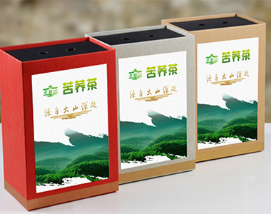成都包装设计公司案例——苦荞茶包装