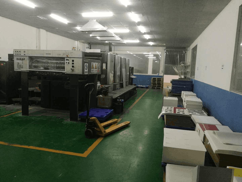 印刷车间及后工展示