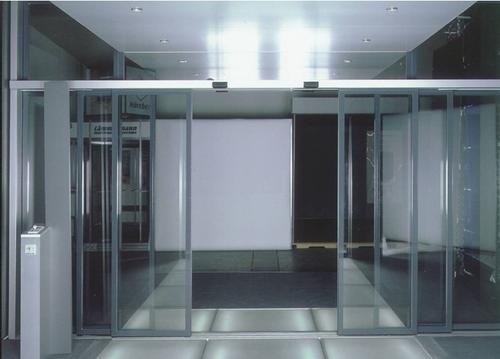 安装的广安自动门有哪些配件?财富门业一一说来