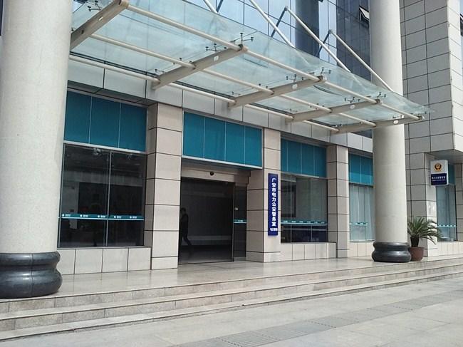 广安电力局自动门